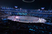 OLYMPIC GAMES: PYEONGCHANG: 09-02-2018, PyeongChang Olympic Stadium, Olympic Games, Opening Ceremony, Team Kazachstan, ©photo Martin de Jong