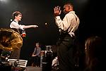 The Royal Central School of Speech and Drama.<br /> THE DEVIL'S GOT ALL THE BEST TUNES.<br /> Director Tom David Hughes & The Company<br /> Devised<br /> Performed by BA (Hons) Acting CDT, working alongside BA (Hons) Theatre Practice<br /> Cast:<br /> Hugo Pilcher<br /> Matthew Allen<br /> Patrick William Hatch<br /> Jonny Peyton-Hill<br /> Shad Lungenyi<br /> Kiren Kabaili-Dwyer<br /> Seb Slade<br /> Jack Heath<br /> Set & Costume Designer: Hannah McCulley<br /> Lighting Designer: Steven Frost<br /> Sound Designer/Composer: Jordan E. Bryan<br /> Stage Manager: Heather Smith<br /> Deputy Stage Managers: Jack Freestone /Jehona Shapeta<br /> Assistant Stage Managers: Fríða Frostadóttir / Lauren Hastings<br /> Chief Electrician: Luca Serra<br /> Deputy Chief Electrician: Cameron Tapplett / Harry Lacey<br /> LX Crew: Natalie Moreton<br /> Lighting Programmer: Megan Curson<br /> Production Sound Engineer: James Melling<br /> Production Manager: Shaz McGee