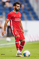25th August 2020, Red Bull Arena, Slazburg, Austria; Pre-season football friendly, Red Bull Salzburg versus Liverpool FC;  Mohamed Salah FC Liverpool with a new haircut