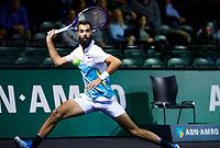 Rotterdam, The Netherlands, 11 Februari 2020, ABNAMRO World Tennis Tournament, Ahoy, <br /> Aljaz Bedene (SLO), Benoit Paire (FRA).<br /> Photo: www.tennisimages.com