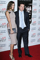 """HOLLYWOOD, CA - NOVEMBER 12: Rhea Durham, Mark Wahlberg at the AFI FEST 2013 - """"Lone Survivor"""" Premiere held at TCL Chinese Theatre on November 12, 2013 in Hollywood, California. (Photo by David Acosta/Celebrity Monitor)"""