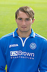 St Johnstone FC 2013-14<br /> Chris Kane<br /> Picture by Graeme Hart.<br /> Copyright Perthshire Picture Agency<br /> Tel: 01738 623350  Mobile: 07990 594431