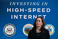 JUN 03 Kamala Harris speaks about High Speed Internet Access