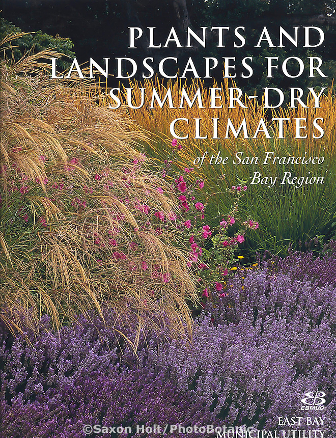 Plants and Landscapes for Summer-Dry Climates, book cover ebmud