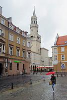 Rathaus am Marktplatz (Rynek) in Opole (Oppeln), Woiwodschaft Oppeln (Województwo opolskie), Polen, Europa<br /> Townhall at Marketplace (Rynek) in Opole, Poland, Europe