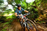 Mountain biking at the US National Whitewater Center. Image is part of an extensive collection of USNWC photography by Charlotte NC photographer Patrick Schneider.