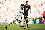 Marco Asensio Willemsen of Real Madrid in action during their La Liga match between Real Madrid and Granada CF at the Santiago Bernabeu Stadium on 07 January 2017 in Madrid, Spain. Photo by Diego Gonzalez Souto / Power Sport Images