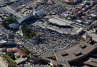 aerial photograph of the San Ysidro, Tijuana border crossing at the  Mexican American border | fotografía aérea del cruce fronterizo de San Ysidro, Tijuana, en la frontera mexicano-americana