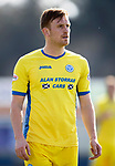 Inverness Caley v St Johnstone…08.04.17     SPFL    Tulloch Stadium<br />Liam Craig on his 300th appearance for St Johnstone<br />Picture by Graeme Hart.<br />Copyright Perthshire Picture Agency<br />Tel: 01738 623350  Mobile: 07990 594431