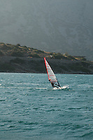 Wind surf backdrop