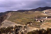Zypern (Süd), ehemaliger Asbest-Tagebau im Troodos