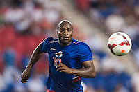 Haiti forward Jean Philippe Peguero (10). Honduras defeated Haiti 2-0 during a CONCACAF Gold Cup group B match at Red Bull Arena in Harrison, NJ, on July 8, 2013.