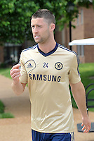 Prior to playing Manchester City in a friendly game at Busch Stadium, home of the St Louis Cardinals baseball team, Chelsea held a closed practice at Robert R Hermann Stadium on the campus of Saint Louis University..Gary Cahill.