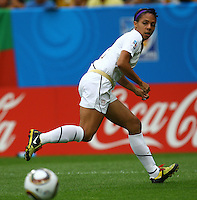 USA's Sydney Leroux during the FIFA U20 Women's World Cup at the Rudolf Harbig Stadium in Dresden, Germany on July 17th, 2010.