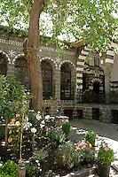 Old Armenian courtyard house in the old quarter of Diyarbakir, southeastern Turkey