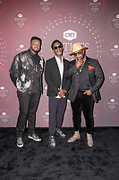 Shawn Stockman and Wanya Morris of Boyz II Men and Kevin Olusolaattend the 2021 CMT Artist of the Year on October 13, 2021 in Nashville, Tennessee. Photo: Ed Rode/imageSPACE/MediaPunch
