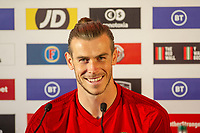 2019 10 12 Wales Press Confrence and Training at The Vale Resort, Cardiff, Wales, UK