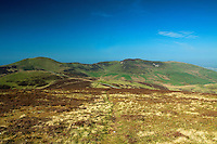 Allermuir Hill and Caerketton from Castlelaw Hill, The Pentland Hills, The Pentland Hills Regional Park, Lothian