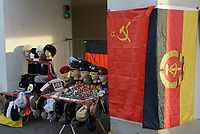 GERMANY, capital city Berlin, souvenir shop with east german and russian items