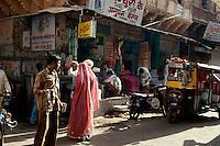 Geschäft in Jodhpur (Rajasthan), Indien