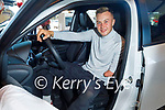 Kerry Olympian and Kelliher's Toyota Ambassador Jordan Lee launching the new Yaris Cross Hybrid at Kellihers Toyota on Monday.