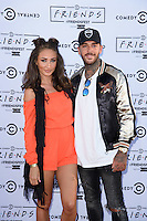 Megan McKenna and Pete Wicks<br /> at the launch party for Comedy Central's FriendsFest, presented by The Luna Cinema at Haggerston Park.<br /> <br /> ©Ash Knotek  D3146  23/08/2016