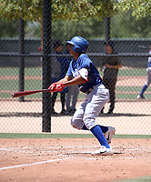 Leonel Valera - Los Angeles Dodgers 2018 extended spring training (Bill Mitchell)