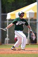 Farmingdale State Rams Ryan Levine during a game against the U-Mass Boston Beacons at North Charlotte Regional Park on March 19, 2015 in Port Charlotte, Florida.  U-Mass Boston defeated Farmingdale 9-5.  (Mike Janes/Four Seam Images)