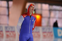 SPEEDSKATING: ERFURT: 19-01-2018, ISU World Cup, 500m Men B Division, Cornelius Kersten (GBR), photo: Martin de Jong