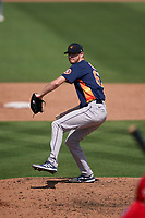 Houston Astros pitcher Tyler Ivey (63) during a Major League Spring Training game against the St. Louis Cardinals on March 20, 2021 at Roger Dean Stadium in Jupiter, Florida.  (Mike Janes/Four Seam Images)