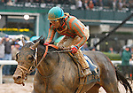 October 02, 2015:  Conquest Windycity and Shaun Bridgmohan win the 5th race, maiden for 2 year old colts, $56,000.  Candice Chavez/ESW/CSM