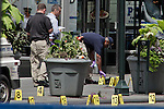 USA shooting outside the Empire State Building in New York