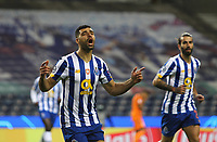 Fußball, CL, FC Porto - Juventus Turin FC Porto v Juventus FC Champions League 17/02/2021. Mehdi Taremi of Porto scores and celebrates his goal during their UEFA Champions League Round of 16 match between FC Porto and Juventus FC at Estadio do Dragao, Porto, Portugal on 17 February 2021. Porto Estadio do Dragao Porto Portugal Editorial use only PUBLICATIONxNOTxINxUK , Copyright: xNunoxGuimaraesx PSI-11901-0009<br /> Porto 17/02/2021 Stadio Dragao <br /> Football Uefa Champions League 2019/2020 Round of 16 Leg 1<br /> Porto - Juventus <br /> Photo Imago/Insidefoto <br /> ITALY ONLY