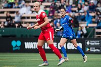 Seattle, WA - Saturday May 13, 2017: Carson Pickett during a regular season National Women's Soccer League (NWSL) match between the Seattle Reign FC and the Washington Spirit at Memorial Stadium.