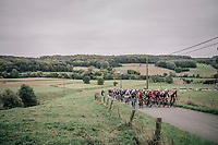 Team Lotto-Soudal controlling the climb<br /> <br /> 77th Euro Metropole Tour 2017<br /> La Louvière > Tournai (BEL): 188.6 km