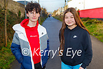 Enjoying a walk on the Tralee Greenway on Sunday l to r: Eoghan Whyte and Faye O'Neill.