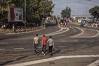 Belgrado, migranti in città
