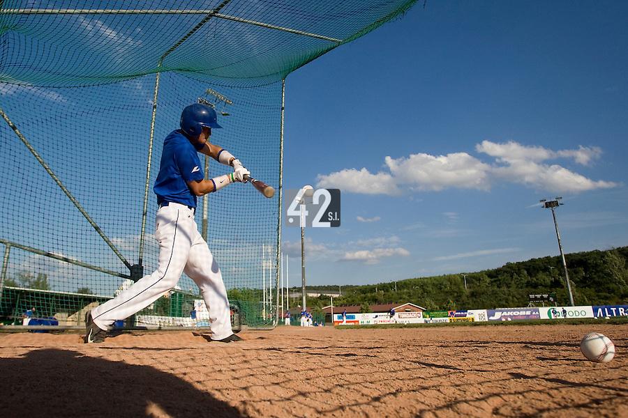 BASEBALL - GREEN ROLLER PARK - PRAGUE (CZECH REPUBLIC) - 23/06/2008 - PHOTO: CHRISTOPHE ELISE.KENJI HAGIWARA (TEAM FRANCE)