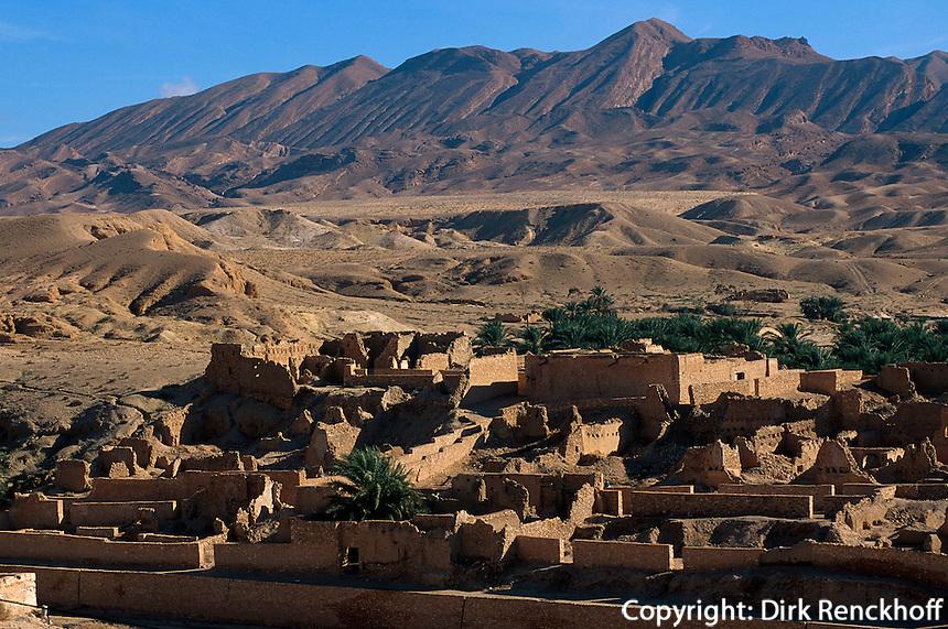 Bergoase von Tamerza, Tunesien