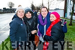 Kathy Moloney, Mairead O'Leary, Siobhan Galvin and Ursula Enright INMO Nurses on strike at University Hospital Kerry on Wednesday morning.