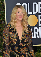 LOS ANGELES, USA. January 06, 2020: Laura Dern arriving at the 2020 Golden Globe Awards at the Beverly Hilton Hotel.<br /> Picture: Paul Smith/Featureflash