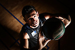 NELSON, NEW ZEALAND - JANURARY 12: Portrait Photo shoot with Patrick Shone New Zealand Volleyball on January 12 2017 in Nelson, New Zealand. (Photo by: Evan Barnes Shuttersport Limited)