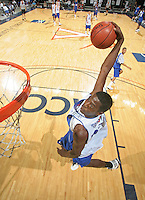 Justin Coleman handles the ball during the 2009 NBPA Top 100 Basketball Camp held Friday June 17- 20, 2009 in Charlottesville, VA. Photo/ Andrew Shurtleff.