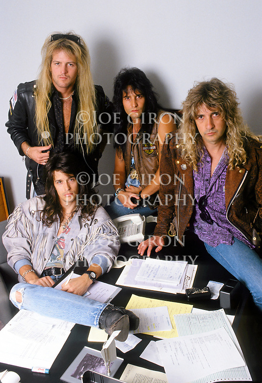 Various portrait sessions of the rock band, Hurricane.