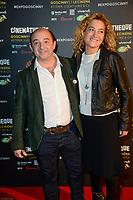 JEAN LOUIS BARCELONA - Vernissage de l' exposition Goscinny - La Cinematheque francaise 02 octobre 2017 - Paris - France