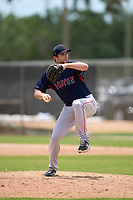 FCL Red Sox pitcher Zach Schellenger (36) during a game against the FCL Twins on July 3, 2021 at CenturyLink Sports Complex in Fort Myers, Florida.  (Mike Janes/Four Seam Images)