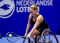 Rotterdam, Netherlands, December 13, 2017, Topsportcentrum, Ned. Loterij NK Tennis, Wheelchair, Aniek van Koot (NED)<br /> Photo: Tennisimages/Henk Koster