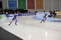 SPEEDSKATING: SALT LAKE CITY: Utah Olympic Oval, 10-03-2019, ISU World Cup Finals, 500m Men, Pavel Kulizhnikov (RUS), Ruslan Murashov (RUS), ©Martin de Jong