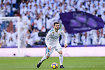 Nacho Fernandez of Real Madrid in action during La Liga 2017-18 match between Real Madrid and Sevilla FC at Santiago Bernabeu Stadium on 09 December 2017 in Madrid, Spain. Photo by Diego Souto / Power Sport Images
