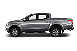 Car driver side profile view of a 2017 Fiat Fullback Sport Pack 4 Door Pick Up